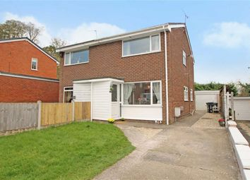 Thumbnail 2 bed semi-detached house for sale in Sycamore Drive, Chirk, Wrexham