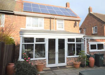 Thumbnail 3 bedroom semi-detached house for sale in Appletree Gardens, Whitley Bay