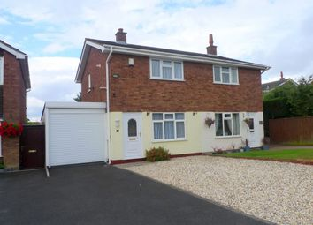 Thumbnail 2 bedroom semi-detached house for sale in Elton Way, Gnosall, Stafford