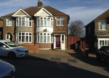 Thumbnail 3 bed semi-detached house for sale in Exton Avenue, Luton, Bedfordshire