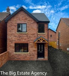 Thumbnail 3 bed detached house for sale in Welsh Road, Garden City, Deeside