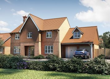 "Thumbnail 5 bed detached house for sale in ""The Downton"" at Tile Barn Row, Woolton Hill, Newbury"
