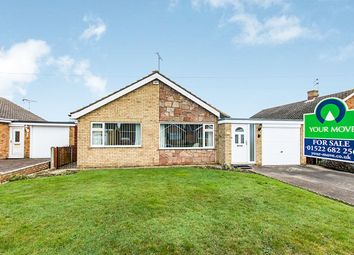 Thumbnail 3 bed bungalow for sale in Oulton Close, North Hykeham, Lincoln