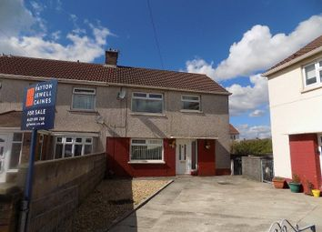 Thumbnail 3 bed end terrace house to rent in Dahlia Close, Sandfields Estate, Port Talbot, Neath Port Talbot.