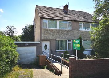 Thumbnail 2 bed semi-detached house for sale in Heol Barri, Caerphilly