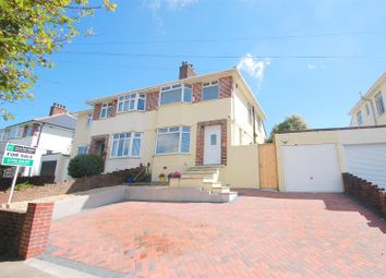 Thumbnail 3 bed semi-detached house for sale in Segrave Road, Milehouse, Plymouth