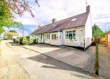Huxtables Lane, Fordham Heath, Colchester CO3. 3 bed semi-detached bungalow