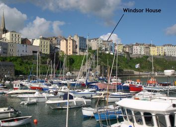 Thumbnail 9 bedroom terraced house for sale in Windsor House, 4, Crackwell Street, Tenby
