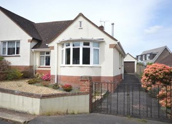 Thumbnail 2 bed semi-detached bungalow for sale in Woolbrook Close, Sidmouth