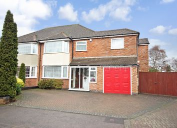 Thumbnail 5 bed semi-detached house for sale in Claverdon Close, Solihull, West Midlands