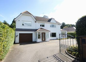 Thumbnail 5 bed detached house for sale in Overdale Road, Willaston, Wirral