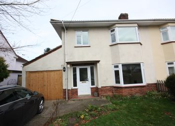 Thumbnail 3 bed semi-detached house to rent in Stoke Road, Taunton