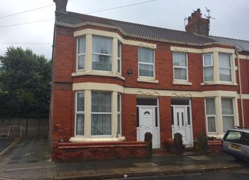Thumbnail 3 bedroom end terrace house for sale in Fallowfield Road, Wavertree, Liverpool