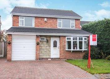 Thumbnail 4 bed detached house for sale in Dornoch Court, Holmes Chapel, Crewe, Cheshire