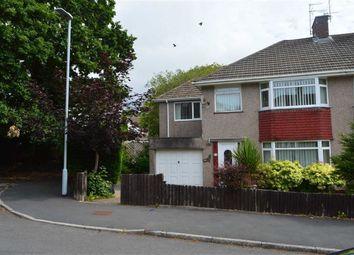 Thumbnail 4 bed semi-detached house for sale in Sunningdale Avenue, Swansea, Swansea
