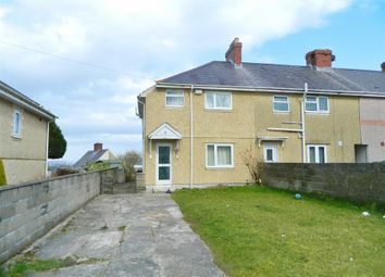 Thumbnail 3 bed end terrace house for sale in Emlyn Gardens, Mayhill, Swansea