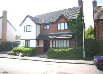 Thumbnail 6 bedroom detached house to rent in Woodward Close, Winnersh, Wokingham