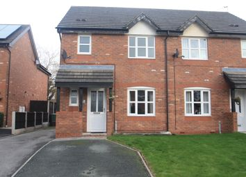 Thumbnail 3 bed semi-detached house to rent in 7 Delamere Close, Barnton, Northwich, Cheshire