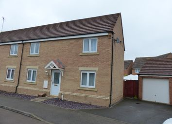 Thumbnail 3 bed semi-detached house for sale in Geddington Road, Peterborough