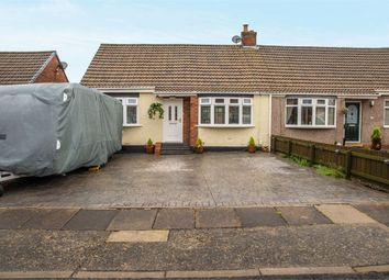 Thumbnail 2 bed semi-detached bungalow for sale in Glendale Road, Shiremoor, Newcastle Upon Tyne, Tyne And Wear