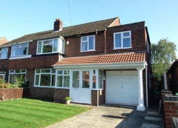 Thumbnail 4 bed semi-detached house for sale in Abbots Close, Sale, Greater Manchester