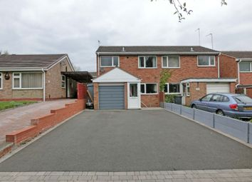 Thumbnail 3 bed semi-detached house for sale in Peterbrook Road, Solihull Lodge, Solihull