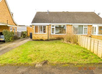 Thumbnail 2 bed semi-detached bungalow to rent in Wigginton, Haxby, York