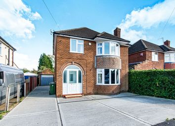 Thumbnail 3 bed detached house for sale in Western Crescent, Lincoln