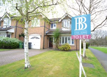 Thumbnail 4 bed detached house to rent in Sandhurst Drive, Wilmslow