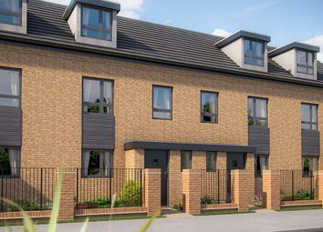 "Thumbnail 2 bedroom town house for sale in ""The Monkston"" at Limousin Avenue, Whitehouse, Milton Keynes"