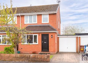 Thumbnail 3 bed semi-detached house for sale in Yarrow Close, Croston