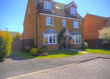 Thumbnail 6 bed detached house for sale in Clitheroe Gardens, Bedlington
