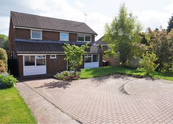 Thumbnail 5 bed detached house for sale in High Fawr Close, Oswestry