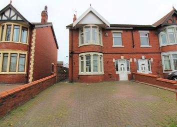 Thumbnail 3 bedroom semi-detached house for sale in Whitegate Drive, Blackpool