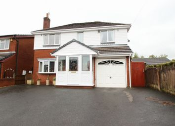 Thumbnail 4 bed detached house for sale in Woodhall Road, Kidsgrove, Stoke-On-Trent