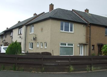 Thumbnail 2 bed end terrace house for sale in Mcneish Drive, Annan