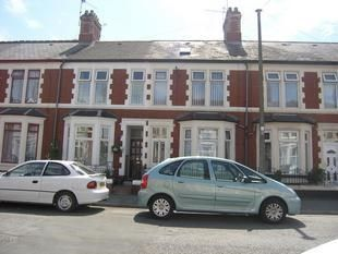 Thumbnail 3 bed terraced house for sale in Coveny Street, Cardiff