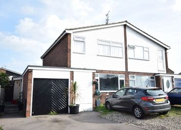 Thumbnail 3 bed semi-detached house for sale in Peregrine Close, Clacton-On-Sea