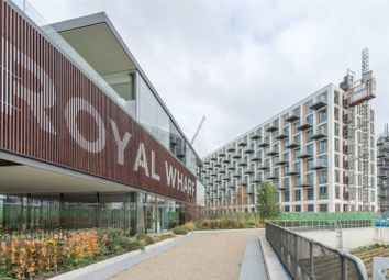 Thumbnail 2 bed flat for sale in Latitude Building, Royal Wharf, Royal Docks, London