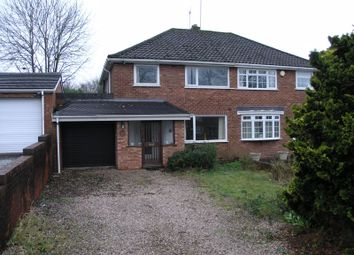 Thumbnail 3 bed semi-detached house for sale in Huntingtree Road, Halesowen