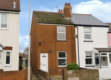 Thumbnail 2 Bed End Terrace House For Sale In Manor Road Deal Kent