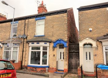 Thumbnail 2 bedroom end terrace house for sale in Perth Street, Hull