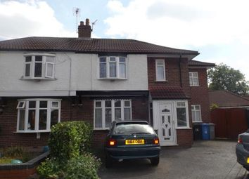 Thumbnail 3 bed semi-detached house for sale in Minehead Avenue, Urmston, Manchester, Greater Manchester
