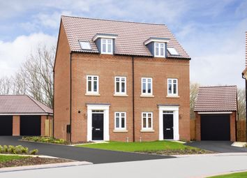 "Thumbnail 3 bed semi-detached house for sale in ""Greenwood"" at Barnsley Road, Flockton, Wakefield"