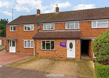 Thumbnail 3 bed terraced house for sale in Saxon Road, Wheathampstead, Hertfordshire