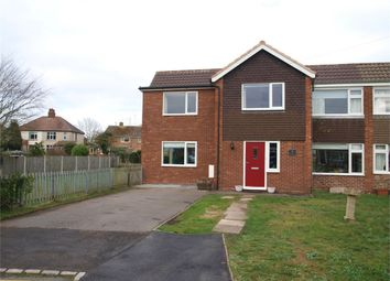 Thumbnail 5 bed semi-detached house for sale in Henhurst Ridge, Burton-On-Trent, Staffordshire