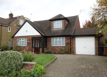 Thumbnail 3 bed detached bungalow for sale in Holloways Lane, Welham Green, Herts
