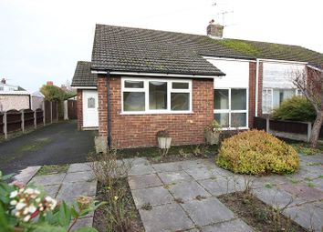 Thumbnail 3 bed semi-detached bungalow for sale in Northall, Much Hoole, Lancashire