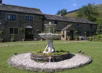 Thumbnail 5 bed detached house for sale in Waterstalls Farm, Bottomley Road, Walsden, Todmorden