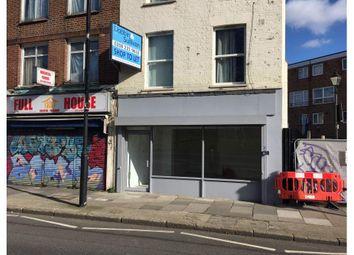 Retail premises to let in 107 Burdett Road, London E3